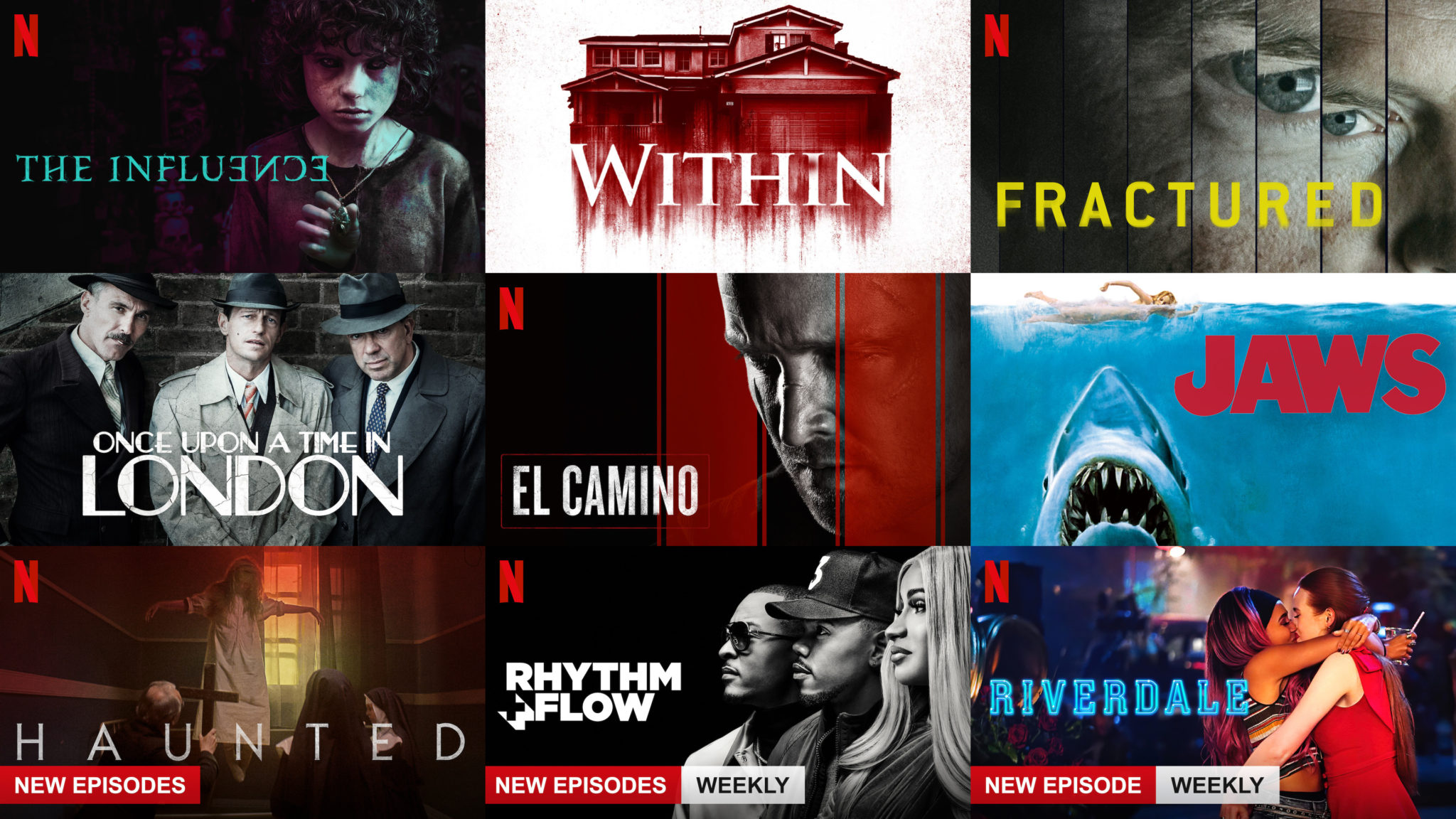 Full List Of Everything Added To Netflix Uk This Week 11th